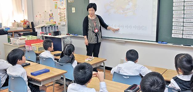韓国語の授業