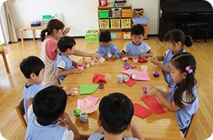 幼稚園の特徴