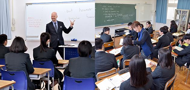 英語・韓国語の取り組み
