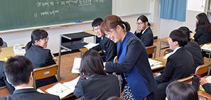 韓国語の取り組み