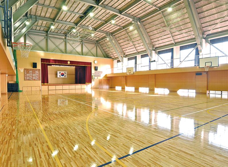 メイン体育館