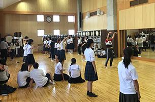クラブ見学 - ダンス部