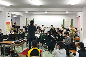 クラブ見学 - 吹奏楽部